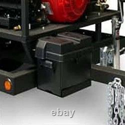 Laveuse À Pression D'eau Chaude - Gaz De Remorque 3500 Psi 3.5 Gpm 12v Ceinture DC