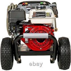 Laveuse À Pression De Gaz Eau Froide 3500 Psi 2,5 Gpm Aaa Pump Honda Engine
