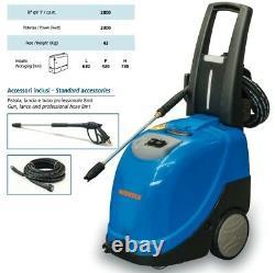 Laveuse À Pression Diesel Wortex Vapo 8/110 Eau Chaude 90°c 2300 W 2800 RPM / Min