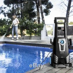 Laveuse À Pression Électrique 1800w 135 Water Bar High Power Jet Wash Patio, Ue Plug