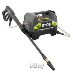 Laveuse À Pression Électrique Eau Reconditionnée Ryobi Portatif 1600 Lb / Po² 1.2gpm