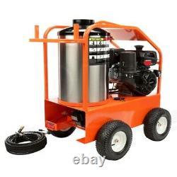 Laveuse De Pression D'eau Chaude De Gaz 4000 Psi 3.5 Gpm 14 HP Kohler General Pump