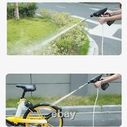 Laveuse De Voiture Sans Fil 12v Pompe À Eau Auto Spray Gun Cleaning Machine Kit