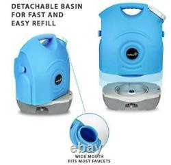 Laveuse Portative Portative D'ivation Avec Réservoir D'eau Construit Dans Rechargeable