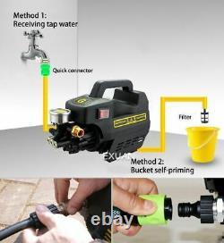 Machine À Laver À Haute Pression 2000w Pompe À Eau À Induction De Lavage De Voiture À Domicile
