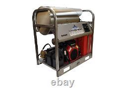 Machine À Laver À Pression D'eau Chaude/froide-10gpm/3500psi-new-ss Frame/panels