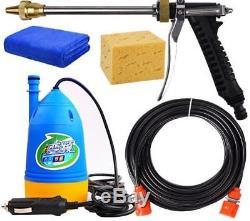 Machine Portative De Machine À Laver De Nettoyage De L'eau De Pompe À Haute Pression De Machine 12v