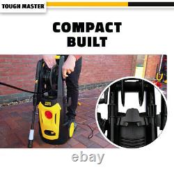 Maître Dur De La Machine À Pression Électrique 140 Bar Laver L'eau Patio Car