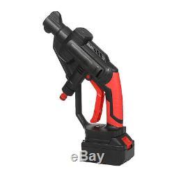 Multifonction Nettoyeur Haute Pression Sans Fil Laveuse Pistolet Tuyau D'eau Pompe Buse Avec