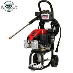 Nettoyer La Machine 2400 Psi 2 Gpm Pression D'eau Froide À Gaz Laveuse Avec Simpson Moteur