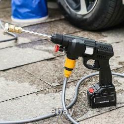 Nettoyeur D'eau Pour Lave-linge De Voiture À Haute Pression Sans Fil Avec Batterie 24v En Tuyau