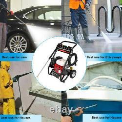 Nettoyeur De Lave-eau Portatif À Eau Froide À Gaz 4 Temps - 3000 Psi, 3,1 Gpm