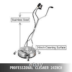 Nettoyeur De Surface Plat 24 Roues De Lave-eau Froide Chaude En Acier Inoxydable