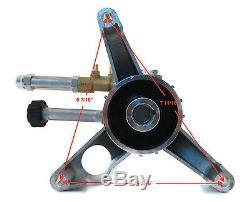 New 2800 Psi 2.5 Pression Ar Gpm Alimentation Lave Pompe A Eau 7/8 Laiton Arbre Tête