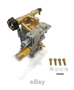 New 3000 Psi Pression D'alimentation Lave Pompe A Eau Avec Boulons & Keyway Ryobi Ry80030