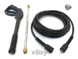 New Pistolet, Wand, Flexible, Et 5-in-1 Buse Kit Ajustement Ryobi Ry80030 Nettoyeur Haute Pression