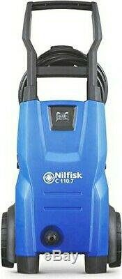 Nilfisk C 110 Pression Bar Machine À Laver Patio Cleaner, 440 L / H Écoulement De L'eau, Bleu