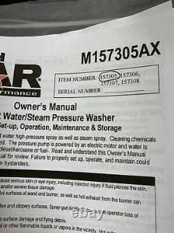Northstar 157305 Laveuse Électrique À Vapeur Et Pression D'eau Chaude Q-4