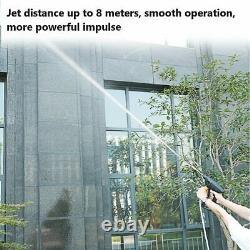 Nouveau Kit De Poudre À Jet De Mousse D'eau À Haute Pression Pour Lave-linge De Voiture