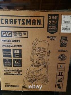 Obo Craftsman (honda Engine) 2800-psi 2.3-gpm Laveuse À Gaz D'eau Froide