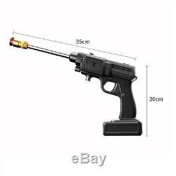 Pistolet D'arrosage Buse Électrique Portatif Sans Fil Car Wash Tuyau Set Haute Pression