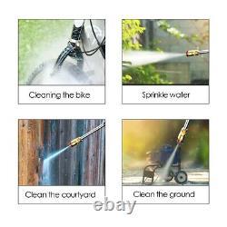 Pistolet D'eau De Nettoyage À Haute Pression Domestique 3 Types De Modes De Sortie D'eau