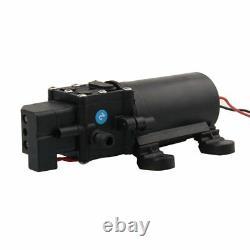 Pompe À Eau 12v 80w À Haute Pression Auto-amorçant Les Kits De Lave-linge Portatifs Électriques