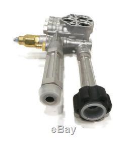 Pompe Complète Avec Tête Déchargeur Pour Ar42940, Laveuses À Pression Srmw2.2g24 Honda
