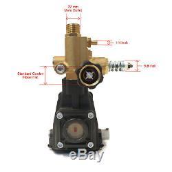 Pompe De Laveuse À Pression De 3 600 Lb / Po², 2,5 Gal / Min, Arbre 3/4 Pour Cat 2sfx30gz, 2sfx30gs