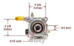 Pompe De Nettoyeur Haute Pression Pour Moteurs Coleman Powermate Pw0872401 & Pw0872402