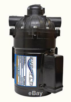 Pompe De Transfert D'eau À Diaphragme Everflo 12 Volts Et 7,0 Gpm Pour Camping-cars Et Remorques