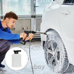 Portable 24v Cordless Car Wash Hose Set High Pressure Watering Nozzle Spray Pump