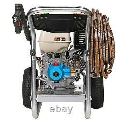 Pression De Gaz Laveuse Eau Froide 4200 Psi 4 Gpm Aluminium Cadre Honda Eng