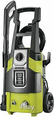 Pression Laveuse Compacte 1800w Patio Voiture Eau Power Jet Cleaner Détergent Réservoir