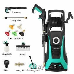 Pulvérisateur D'eau 2000psi 2.1gpm Electric Pressure Washer High Power Cleaner Machine Water Sprayer