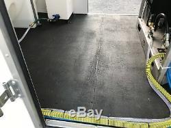 Remorque Fermée Montée Avec Nettoyeur Haute Pression Pour Eau Chaude, 6 Gpm, 4000psi-honda Gx630