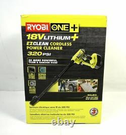 Ryobi 18v One+ 320 Psi Nettoyeur Sans Fil Avec 4.0 Ah & Charger