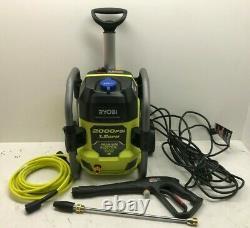 Ryobi 2000 Psi 1,2 Gpm Lave-vaisselle À Pression D'eau Froide Ry142022vnm, Ln