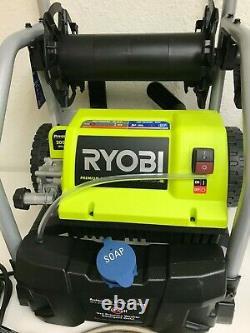 Ryobi Ry141900 2000 Psi 1,2 Gpm Laveuse À Pression Électrique Avec 3 Buses, L. N