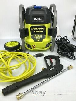 Ryobi Ry142022vnm 2000 Psi 1,2 Gpm Laveuse De Pression D'eau Froide G
