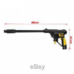 Sans Fil Haute Cleaner Nettoyeur Haute Pression Pistolet Tuyau D'eau Buse Pompe 2x Batterie