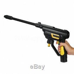 Sans Fil Haute Cleaner Nettoyeur Haute Pression Pistolet Tuyau D'eau Buse Pompe 2x Batterie Nouveau