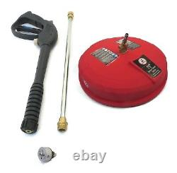Spray Gun, Wand, 5-en-1 Buse, & Surface Cleaner Kit Fit Simpson Msv3024 Laveuse
