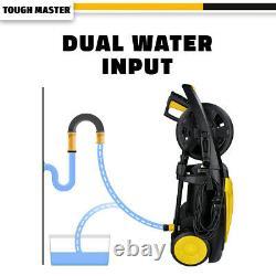 Tough Master Lave-pression Électrique 140 Bar Laver L'eau Patio Car