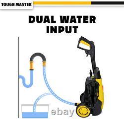 Tough Master Laveuse À Pression Électrique 110 Bar Water Wash Patio Car