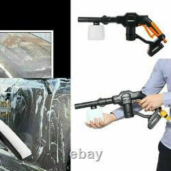 Vaporisateur À Eau Haute Pression Sans Fil Vaporisateur Électrique Vaporisateur De Lave-linge Batterie