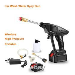 Vaporisateur De Pompe À Eau À Haute Pression Pour Lave-auto Portable 25v Pour