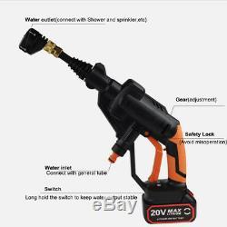 Vaporisateur De Tuyau D'eau De Vaporisateur Ws + G500 20v Sans Fil Avec Nettoyeur À Haute Pression De Voiture Et Batterie