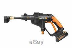 Worx Wg629e1 18v 20v Max Sans Fil Hydroshot Nettoyeur Portable Nettoyeur Haute Pression